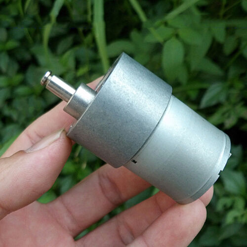 37 mm DC 12 V ~ 24 V 50 tr//min Mini Full Metal Gearbox Gear Motor Large Torque À faire soi-même Robot