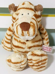 Nici-Lion-Plush-Toy-Children-039-s-Soft-Animal-Toy-Beans-in-Bum-16cm-Tall-Seated