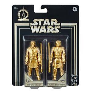 Obi-Wan-Kenobi-amp-Anakin-Skywalker-Star-Wars-Gold-Commemorative-Edition