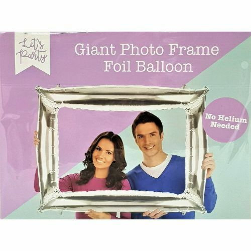 Giant Photo Frame Foil Balloon No Helium Required Party Fun