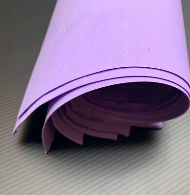 """10 sheets foamiran silk foam for flowers handmade size 19,6/""""x19,6/"""" x 0.038/"""""""