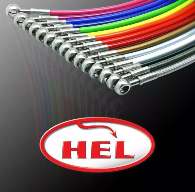 HEL PERFORMANCE Brake Lines For AUDI 90 QUATTRO 2.2 TO CH 81/85-H-299 000 (1987)