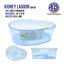 High-Plastic-Turtle-Lagoon-Kidney-Reptile-House-Terrarium-Habitat-w-Plant thumbnail 5