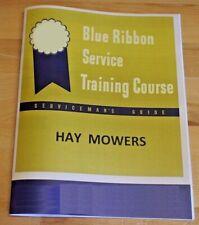 Ih Farmall Tractor Amp Horse Hay Sickler Mower Dealer Service Manual Brsm 9 16 25