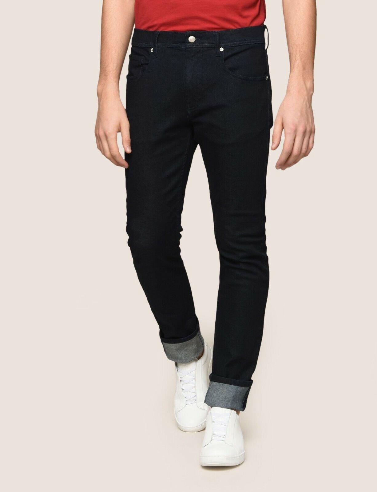 ARMANI EXCHANGE Authentic Slim Fit Jean Dark Indigo NWT