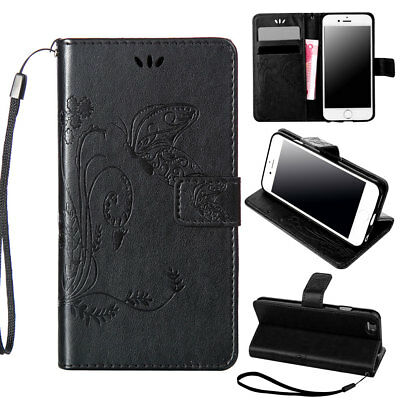 Pattern Magnetic Wallet Phone Case For Apple iPhone 6 6s Plus Pouch Stand Folio