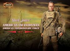 DRAGON IN DREAMS DID 1/6 US WW I SPECIAL ED BUCK JONES AMERICAN INFANTRYMAN 1917