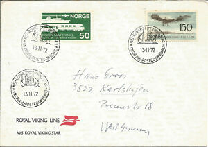 Maritime-Mail-Cover-Posted-On-Board-MS-Royal-Viking-Star-13-Nov-1972-U721