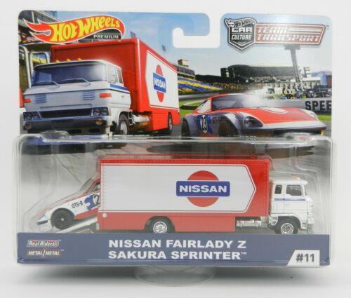 Hot Wheels *TEAM TRANSPORT* NISSAN Fairlady Z Sakura Sprinter NIP