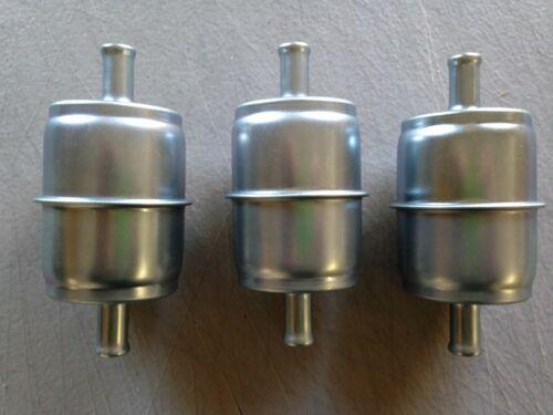 """GKI GF69M 3//8/"""" Metal Inline Gas//Fuel Filter LOT fits G15 G61P 33033 3 THREE"""
