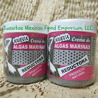 Two Sea Weed Cream 4 Oz 120 Grams Crema De Algas Marinas Helps Burn Fat Quickly