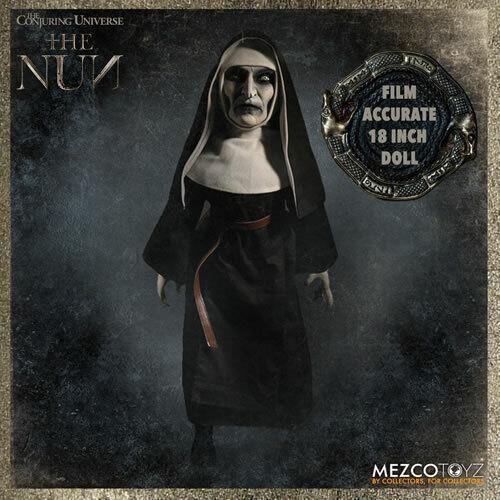 Mezco Juguetes The Nun Muñecas - 18  rojoo Muñeco De Peluche  Nuevo  envío Gratis en EE. UU.