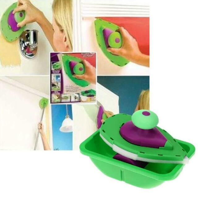 Point And Paint Roller Tray Set N Household DIY Painting Kit Decorative Tool T&