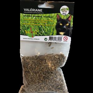 Valériane séchée pour chat 80 gr - WASABYCAT