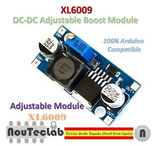 XL6009-DC-DC-Booster-module-Power-supply-adjustable-Super-LM2577-step-up