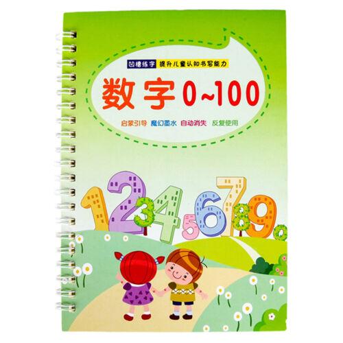 Kindergarten digital poster practice numeral beginner/'s calligraphy