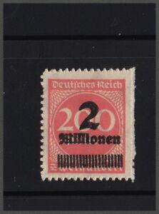 Deutsches Reich 1923 2 Mill. A. 200 marchi rosso arancia