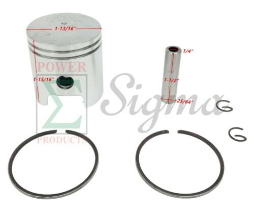 Piston Kit For Chicago Electric Storm 900 Watts 60338 66619 69381 Generator