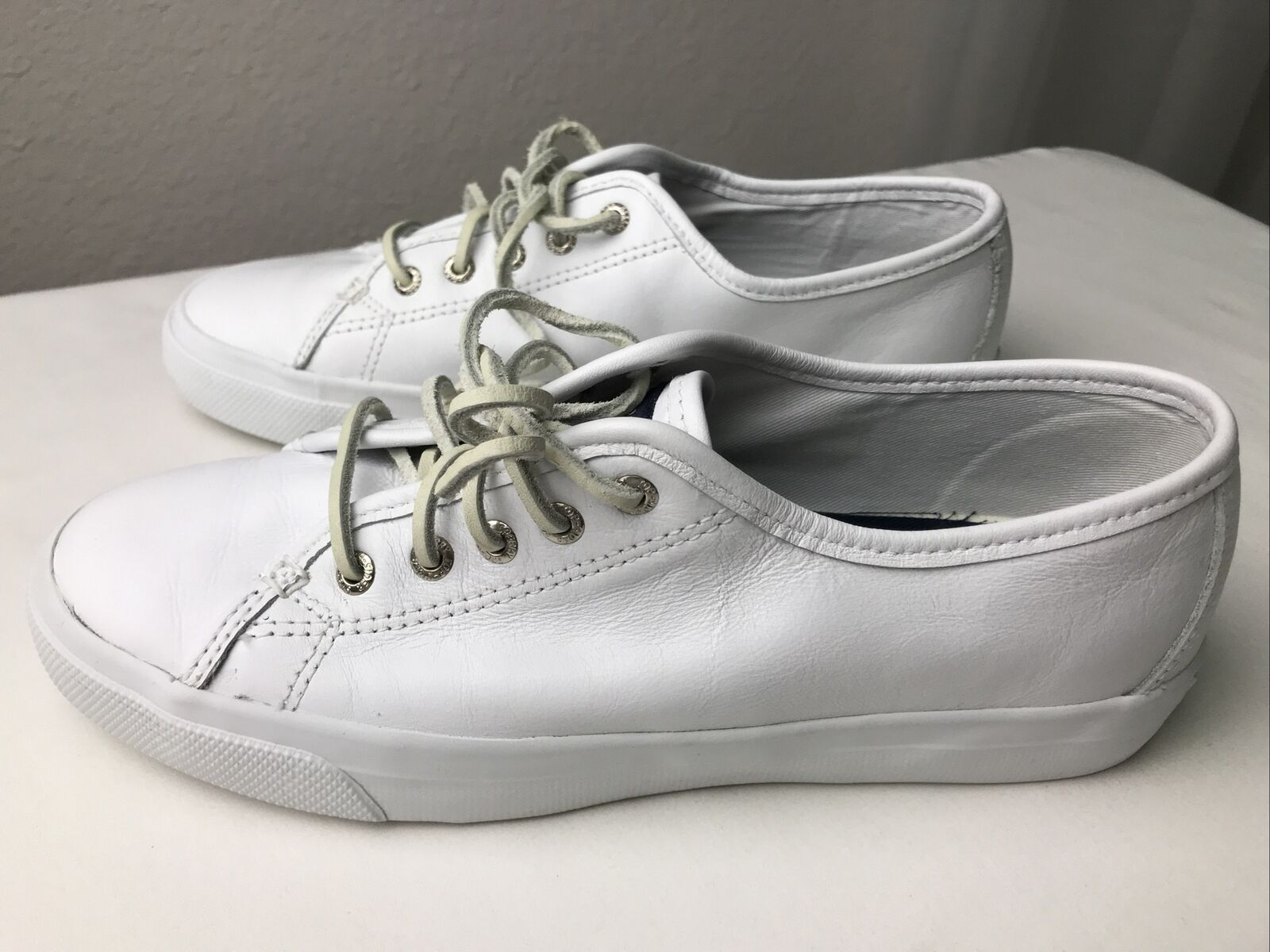 Sperry STS91888 Top-Sider Women's 7.5M Seacoast Boat Shoes Genuine Leather