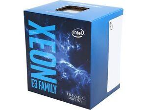 Intel Xeon E3-1245 V5 SkyLake 3.5 GHz LGA 1151 80W BX80662E31245V5 Server Proces