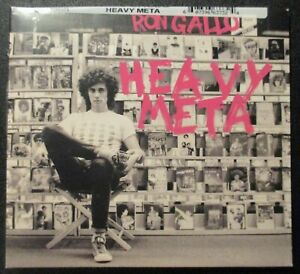 New-RON-GALLO-HEAVY-META-CD-Sealed-by-New-West-Records