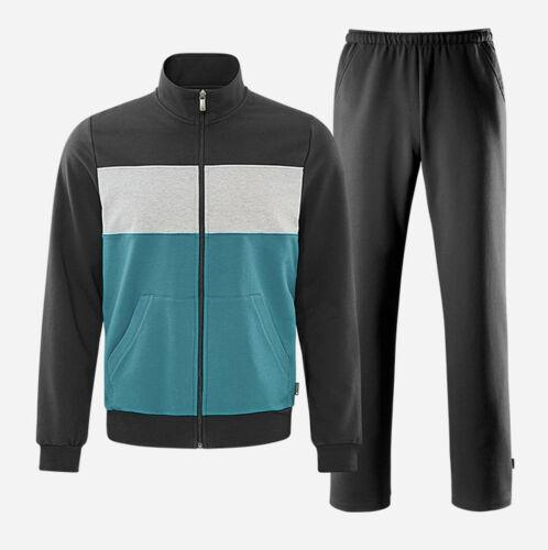 Schneider Sportswear Hommes Sport-Loisirs-Survêtement blairm costume bleu gris