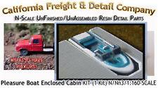 PLEASURE BOAT W/OPEN CABIN (1 Kit) N/1:160-Scale Craftsman CAL FREIGHT