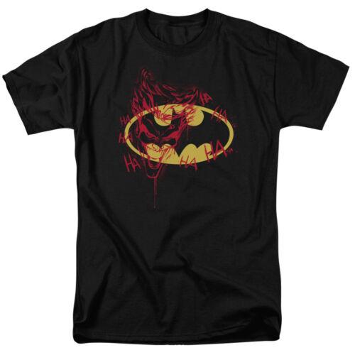 Batman Joker Graffiti DC Comics Officially Licensed Adult T-Shirt