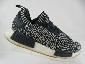 ADIDAS-NMD-R1-Black-White-Sz-9-Men-Running-Shoes