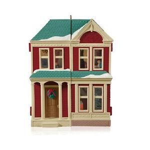 Details about Victorian Dollhouse - 2014 Hallmark Ornament - Member  Exclusive Repaint