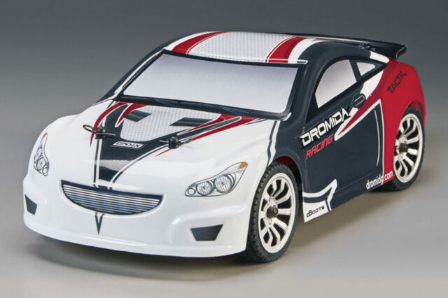 Dromida 1-18 Touring Car RTR 2.4 GHz, Rosso didc0070 4WD QUATTRORUOTE motrici