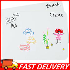 Dry Erase White Lapboards 9x12 Reusable Drawing Marker Board Blank Whiteboards