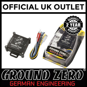 GroundZero-Car-Speaker-Active-AMP-Hi-Low-Level-RCA-Phono-Output-Line-Convertor