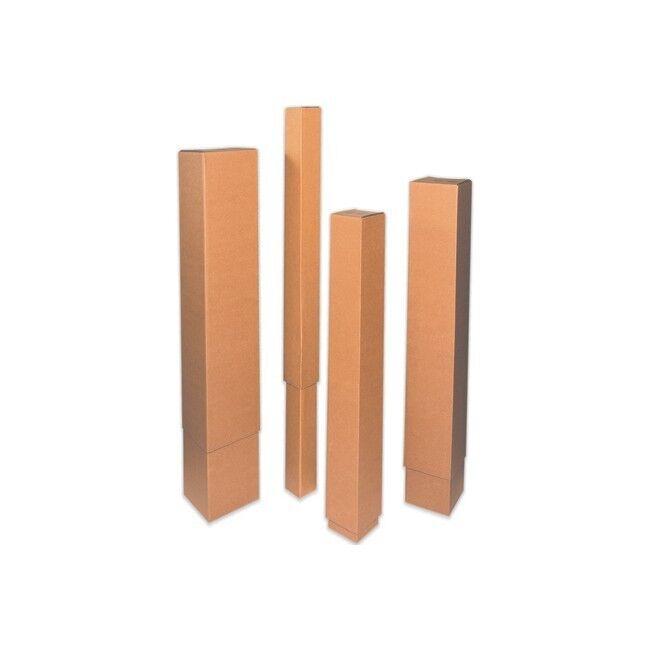 Thornton's Telescoping Inner Boxes, 8   x 8   x 48  , Kraft, 20