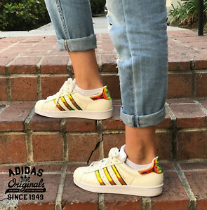 low priced a509e 1b058 Image is loading adidas-Originals-Women-039-s-Superstar-W-Fashion-