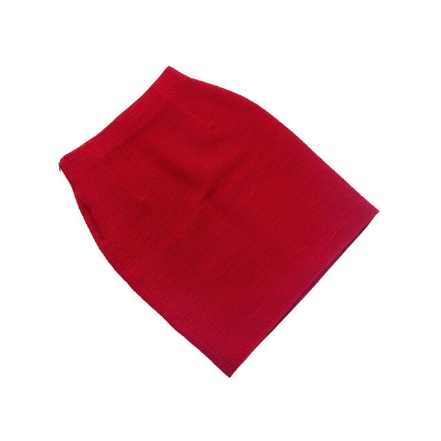 Dior Skirts Red Woman Authentic Used L2087