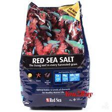 Red Sea Salt - Marine Aquarium Sea Salt - 4kg - Healthy Marine LIfe - Fish Tank