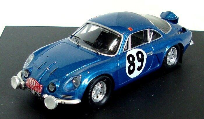 Alpine Renault A110 Vinatier-Jacob MonteCarlo 1968  817 1 43 Trofeu