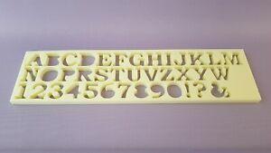 Details Zu Lv Beton Giessform Styrodur 6x4cm Buchstabe Werbung Dekorationen Alphabet Diy Neu