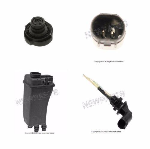 Cap+Fluid Level Sensor New For BMW e39 530i 525i Coolant Expansion Tank