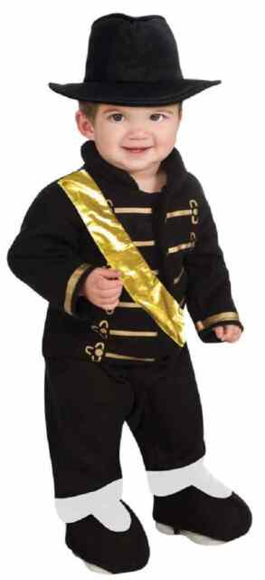 black military romper michael jackson pop star halloween baby child costume