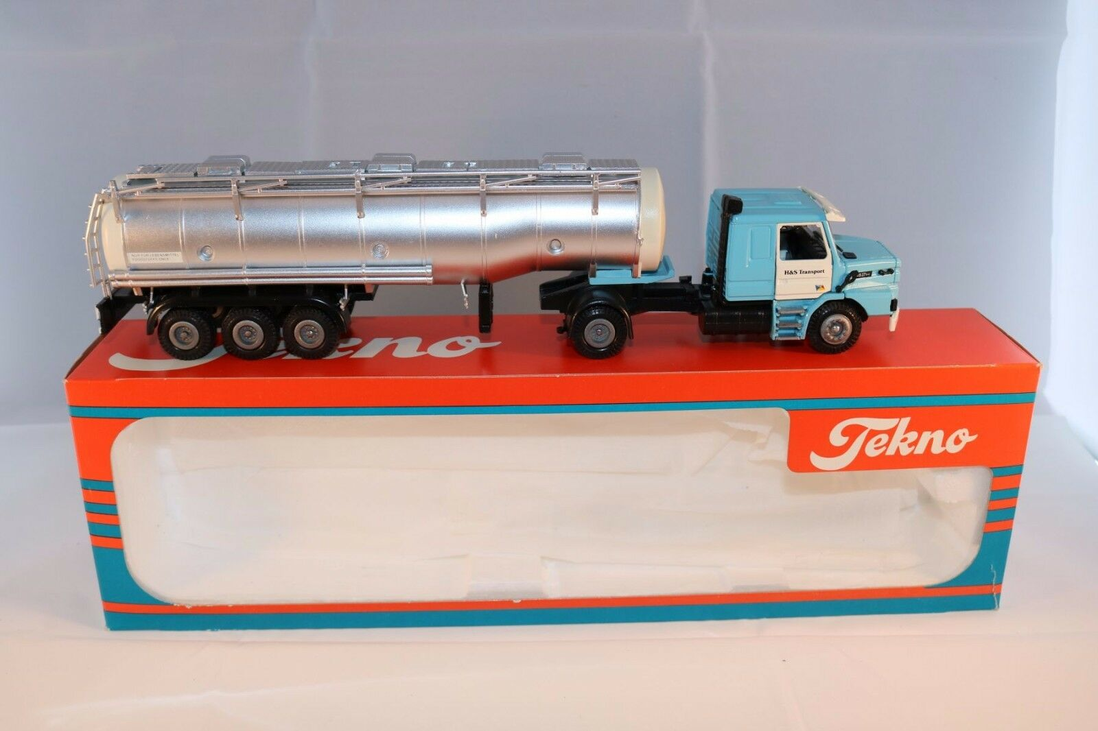 Tekno Scania 142H   H&S Transport   1:50 perfect mint in box