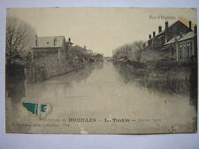 HOUILLES  :  Le Tonkin.  Inondations de Janvier 1910. La Rue d' Enghein.