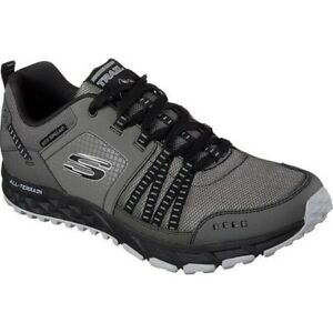 SKECHERS-MEN-039-S-ESCAPE-PLAN-OXFORD-CHARCOAL-BLACK-7-5-M-US-51591