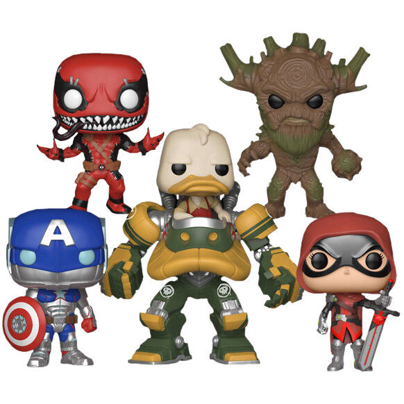 Marvel: Contest of Champions - Gamerverse Pop  Vinyl Bundle (Set of 5)