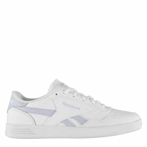 Reebok Royal Techque Femmes Baskets Cuir Blanc / Violet Chaussures