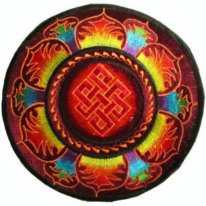 Aufnaeher-PATCH-D-22cm-Endloser-Knoten-Shrivatsa-Buddhaknoten-Endless-knot-ewiger