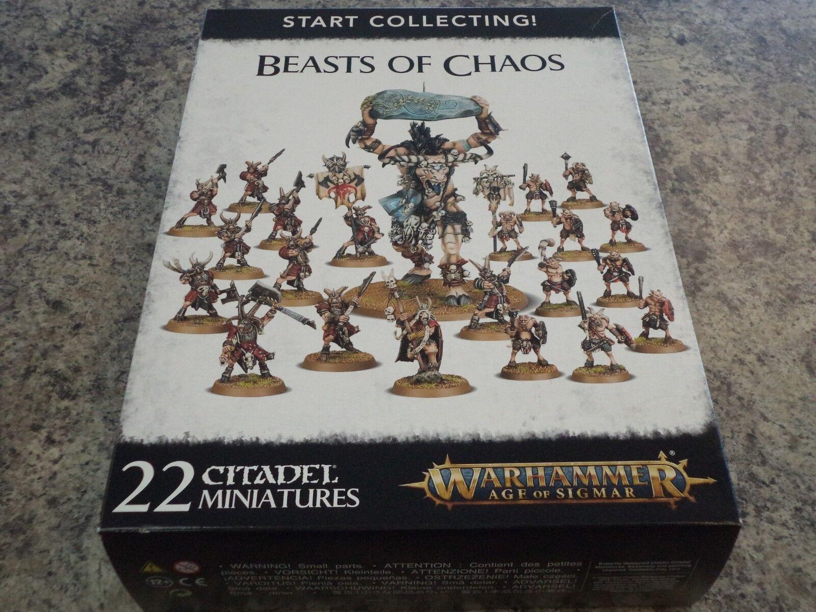 Start Collecteur Beasts de Chaos Warhammer Âge de Sigmar Sigmar Sigmar Fantasy Modèle Nouveau b53888