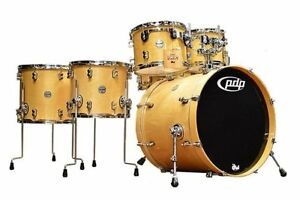 PDP-Concept-Maple-6-piece-Drum-Shell-Pack-Natural-Lacquer
