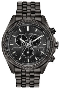Citizen Eco-Drive Men's Brycen Perpetual Calendar Chrono 44mm Watch BL5567-57E